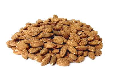 Picture of 500g toasted Sicilian almonds.