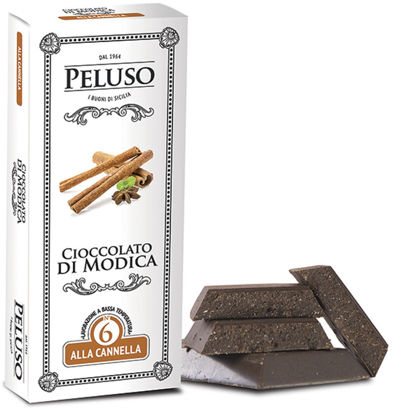 Picture of Modica PGI Chocolate with Cinnamon 75g