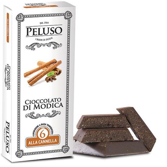 Image sur Chocolat de Modica IGP à la cannelle 75g