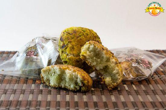 """Immagine di Biscotti """"Paste di Mandorla"""" con Pistacchio 500g"""